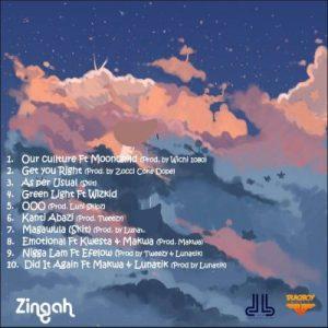 ALBUM: Zingah – On A Different (Tracklist)