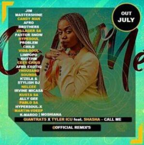 Giant Rats & Tyler Icu – Call me (Remix) Ft. Sha Sha