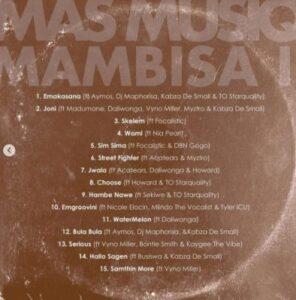 Mas Musiq – Emgroovini Ft. Nicole Elocin, Mlindo The Vocalist & Tyler ICU